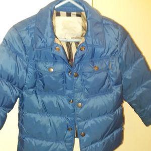 Burberry boys coat